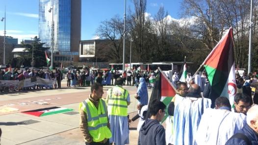 Manifestacion en Ginebra 16.03.2018